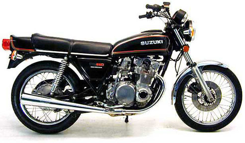 4 pat - suzuki gs 550
